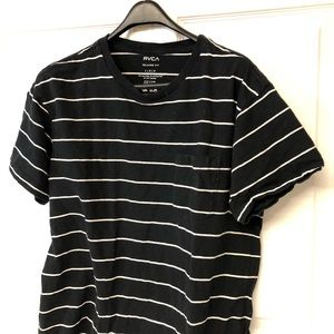 👕2For$50👕RVCA Stripped Pocket Tee